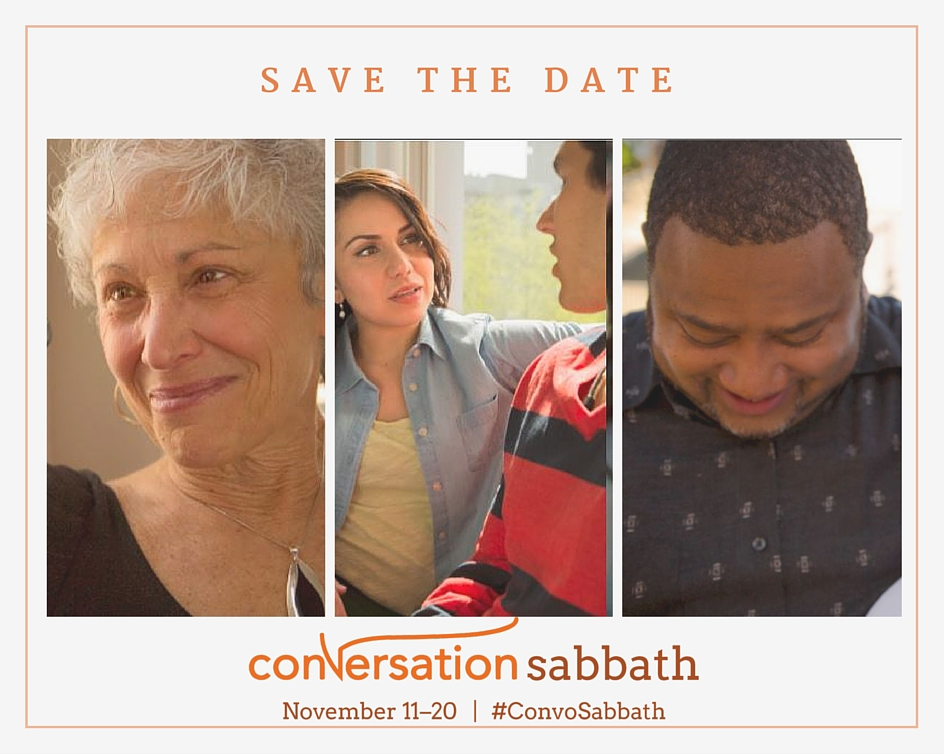 Conversation Sabbath PSA postcard