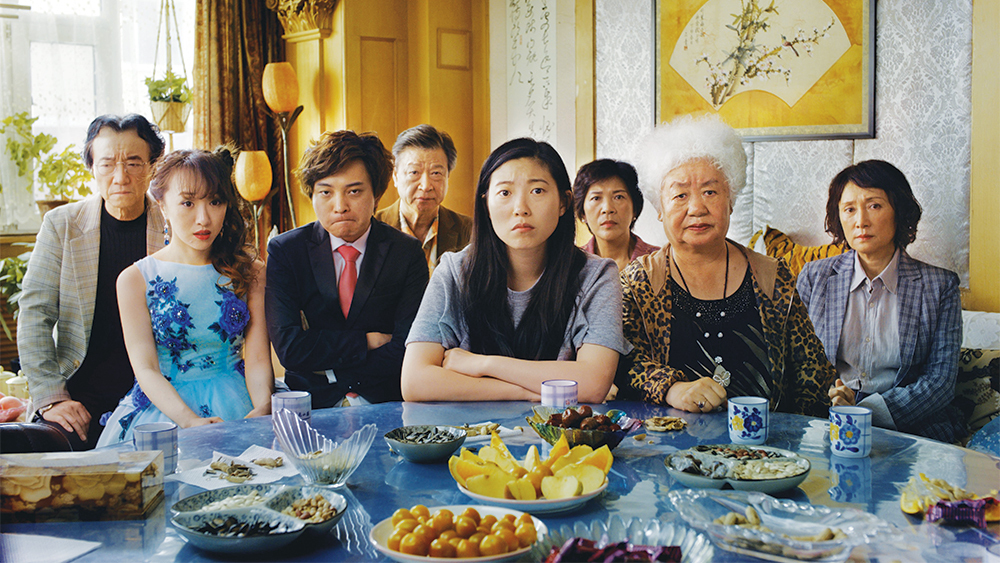 "The cast of the movie ""The Farewell"""